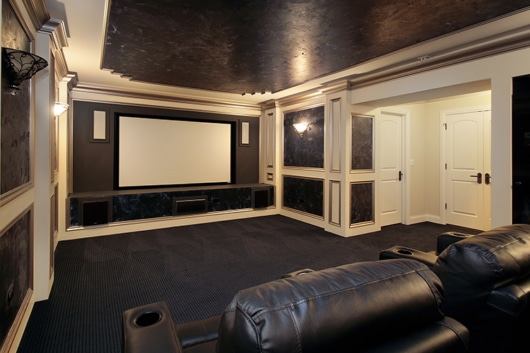 Home Theater Slider